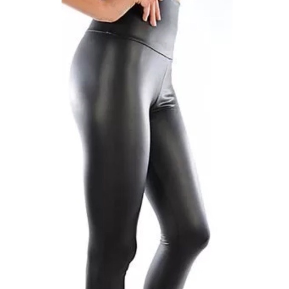 e151462aefd Pants - 💫Faux Leather High Waisted Leggings Plus Matte💫